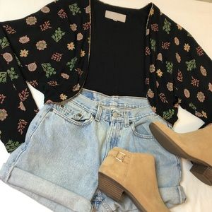 80s Cropped Jacket Open